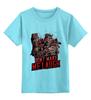 """Детская футболка классическая унисекс """"Mortal Combat"""" - игра, mortal kombat, мортал комбат, мортал, комбат"""