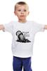 "Детская футболка классическая унисекс ""Drun and Bass W"" - музыка, music, dnb, drum'n'bass, dram and bass"
