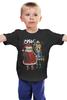 """Детская футболка классическая унисекс """"Новогодний сюрприз"""" - дед мороз, санта, снегурочка, новогодние, нг, santa claus, дерзкие, с сантой, снугурка"""