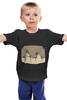 """Детская футболка классическая унисекс """"Снеговики"""" - арт, смешное, winter, snow, snowman"""