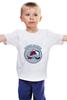 """Детская футболка классическая унисекс """"Colorado Avalanche"""" - хоккей, nhl, нхл, колорадо эвеланш, colorado avalanche"""