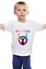 """Детская футболка классическая унисекс """"хипстер"""" - style, олень, swag, hipster, deer"""