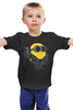 """Детская футболка классическая унисекс """"Терминьон"""" - миньоны, терминатор, гадкий я, minion"""
