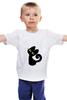 """Детская футболка классическая унисекс """"Котейка)"""" - авторские майки"""