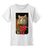 """Детская футболка классическая унисекс """"Рыжий """" - кот, котэ"""