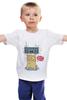 "Детская футболка ""Great party!"" - music, юмор, приколы, party, вечеринка, бумбокс, boombox"