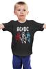 """Детская футболка классическая унисекс """"AC/DC """" - heavy metal, acdc, ac-dc, хэви метал, эйси диси"""