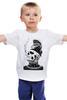 """Детская футболка классическая унисекс """"Ершище"""" - арт, tattoo, тату, zombie boy, рик дженест, rick genest, rick"""