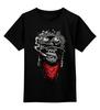 """Детская футболка классическая унисекс """"Курящая горилла"""" - иллюстрация, monkey, smoking, горилла"""