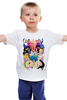 """Детская футболка классическая унисекс """"Время Приключений"""" - мульт, время, adventure time, время приключений, приключений"""