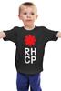 "Детская футболка ""Red Hot Chili Peppers"" - red hot chili peppers, красные острые перцы чили, rhcp"