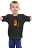 """Детская футболка классическая унисекс """"Ottawa Senators"""" - хоккей, nhl, ottawa senators, канада, оттава"""