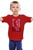 """Детская футболка классическая унисекс """"ValenPutin"""" - сердце, сердца, путин, putin, валентин"""