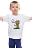 """Детская футболка классическая унисекс """"Я есть Грут"""" - комиксы, marvel, марвел, стражи галактики, groot, i am groot, я есть грут"""