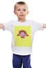"""Детская футболка """"Знаки зодиака. Весы."""" - сова, весы, знак зодиака"""