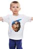 """Детская футболка классическая унисекс """"Тупак (2pac)"""" - rap, west coast, тупак, тупак шакур, rapper, tupac, 2 pac"""