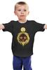 """Детская футболка классическая унисекс """"Маска Мононоке"""" - маска, аниме, принцесса мононоке, маска мононоке"""