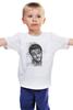"""Детская футболка классическая унисекс """"леонардо ди каприо"""" - леонардо ди каприо, титаник, leonardo dicaprio, актёр, titanic"""