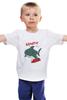 """Детская футболка классическая унисекс """"Акула (Baywatch)"""" - акула, спасатели малибу, baywatch"""