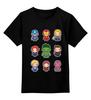 """Детская футболка классическая унисекс """"Без названия"""" - мстители, avengers, iron man, тор, captain america"""