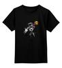 """Детская футболка классическая унисекс """"Free your mind"""" - клоун, общество, разум, свобода"""