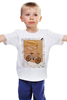 """Детская футболка """"Bycicle&baloons"""" - арт, воздушные шары, велосипед, bike, ballon"""