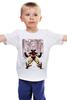 """Детская футболка классическая унисекс """"Wolverine. Marvel"""" - росомаха, люди икс, marvel, марвел, x-men, wolverine"""