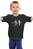 """Детская футболка классическая унисекс """"Доктор Кто (Doctor Who)"""" - пародия, doctor who, доктор кто, криминальное чтиво, pulp fiction"""