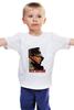 """Детская футболка """"Толстовка с Путиным"""" - патриот, россия, russia, путин, родина, putin, все путем, president"""