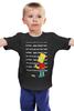 """Детская футболка классическая унисекс """"Bart Simpson & Chalkboard"""" - симпсоны, the simpsons, bart simpson, барт симпсон"""