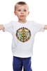 """Детская футболка классическая унисекс """"Герб                        """" - россия, герб, путин, кризис, патриотические футболки"""
