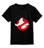 "Детская футболка классическая унисекс ""Ghostbusters"" - ghostbusters, лизун, охотники за приведениями, ghost"