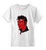 """Детская футболка классическая унисекс """"Элвис Пресли Дьявол"""" - король, rock-n-roll, elvis presley, devil, элвис пресли"""