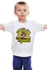 """Детская футболка классическая унисекс """"Бейн (Bane)"""" - dc, bane, бейн, gotham city"""