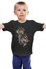 "Детская футболка классическая унисекс ""Андроид"" - арт, android, абстракция, андроид"