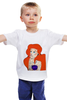 """Детская футболка классическая унисекс """"Art"""" - русалка"""