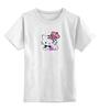 """Детская футболка классическая унисекс """"Кошка королева"""""""