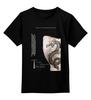 """Детская футболка классическая унисекс """"Девушка с татуировкой дракона"""" - дракон, постер, тату, kinoart, афиша"""