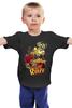 """Детская футболка классическая унисекс """"Art Desing"""" - прикол, скейт, юмор, skate, скейтбордист"""