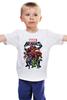 """Детская футболка классическая унисекс """"Marvel Heroes"""" - comics, marvel, superheroes"""