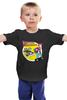 """Детская футболка """"Футурама х Назад в Будущее"""" - futurama, бендер, назад в будущее, bender, back to the future"""