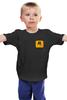 """Детская футболка классическая унисекс """"Rockstar Style"""" - авторские майки, games, игры, игра, game, gamer, rockstar, рокстар, rockstar games, игрок"""