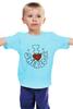 "Детская футболка ""I Love Sherlock"" - sherlock, шерлок"
