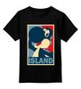 """Детская футболка классическая унисекс """"Yoshi (Mario)"""" - obey, mario, island, йоши"""