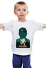 """Детская футболка """"Biochock poster"""" - плакат, биошок, bioshock, большой папочка"""