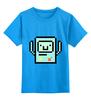 """Детская футболка классическая унисекс """"BMO - The Adventure Time"""" - adventure time, время приключений, bmo, бимо, финном и джейком"""