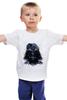 """Детская футболка классическая унисекс """"Star Vaider"""" - star wars, darth vader, звездные войны, дарт вейдер, звезда смерти"""