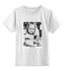 """Детская футболка классическая унисекс """"Angry Girl by K.Karavaev"""" - girl, angry, karavaev, designministry, караваев"""