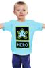"Детская футболка классическая унисекс ""Звезда из Марио"" - star, hero, марио, mario bros"