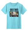 "Детская футболка классическая унисекс ""Guns N' Roses"" - metal, рок, rock, heavy metal, фанат, glam, guns n roses, метал, металлист, хэви метал"
